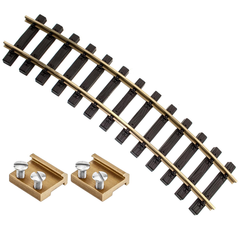 ML-Train Spur G Gleis gerade 30cm mit Schraub-Verbinder 8910302